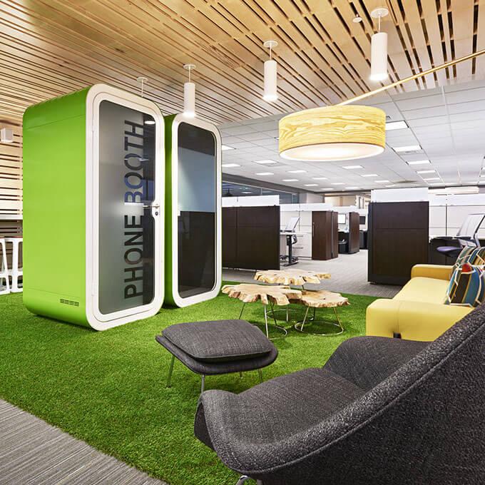Asset Office Interiors-Διασφαλίζοντας την απαραίτητη ιδιωτικότητα σε open plan χώρους εργασίας!