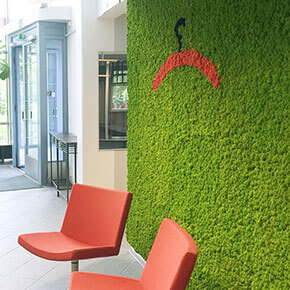Asset Office Interiors-Polarmoss, the Nature Indoors!
