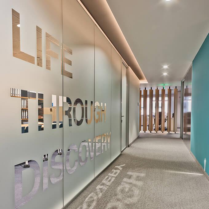 Asset Office Interiors-Νέα Γραφεία Servier Hellas