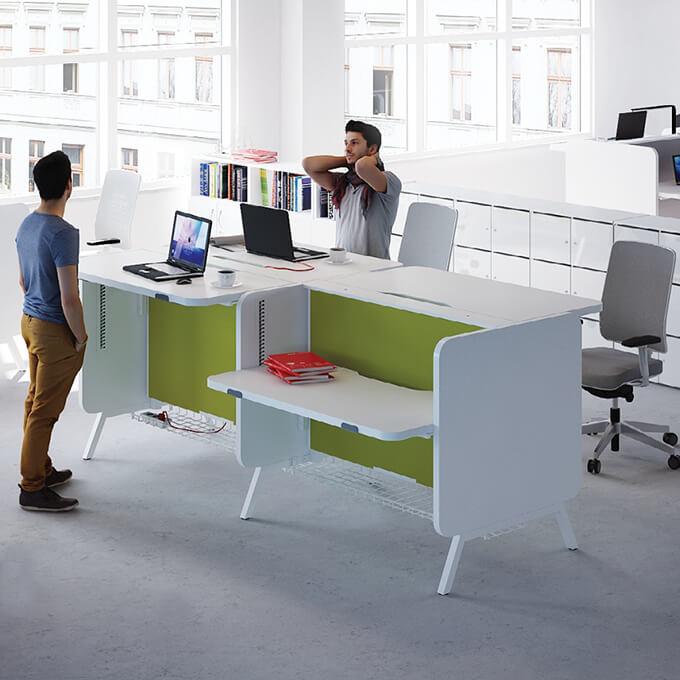 Asset Office Interiors-Stand Up: Η Νέα Σειρά Γραφείων!