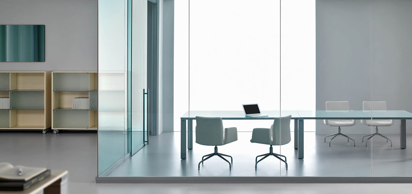 Asset Office Interiors-FRAMELESS SINGLE GLAZED