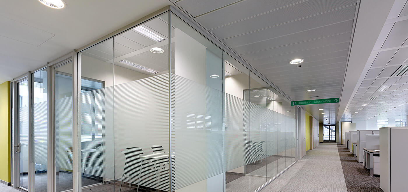 Asset Office Interiors-FRAMELESS Triple GLAZED