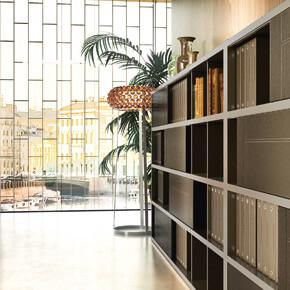 Asset Office Interiors-Βιβλιοθήκες & Ερμάρια