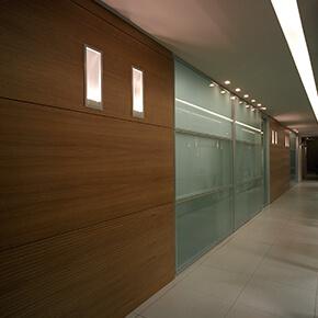 Asset Office Interiors-Framed Double Glazed