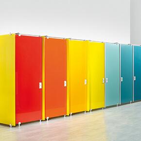 Asset Office Interiors-Χωρίσματα WC