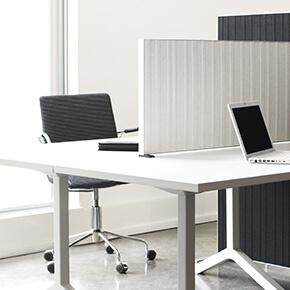 Asset Office Interiors-Alumi Table Screen