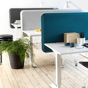 Asset Office Interiors-Domo Table Screen