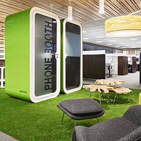 Asset Office Interiors-Phone Booths