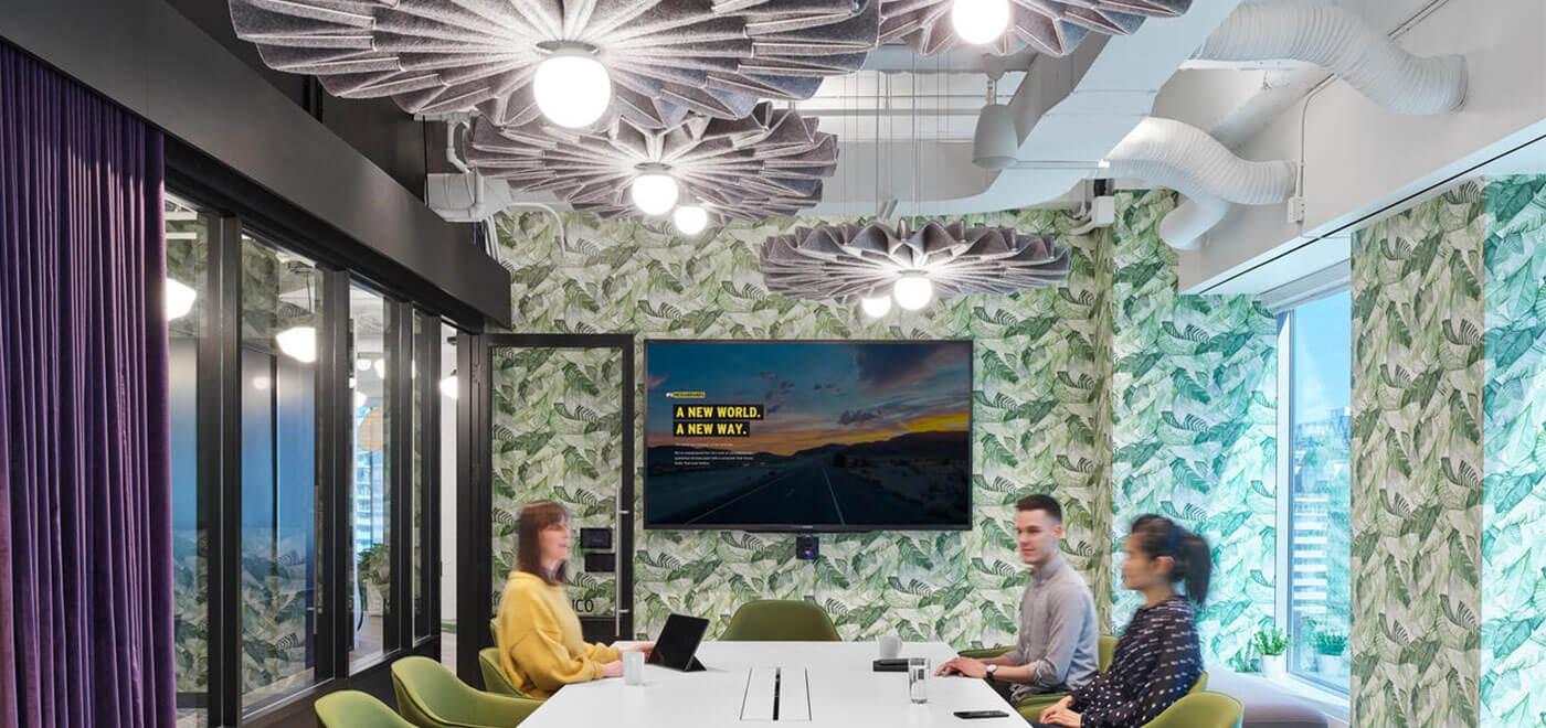 Asset Office Interiors-BuzziPleat