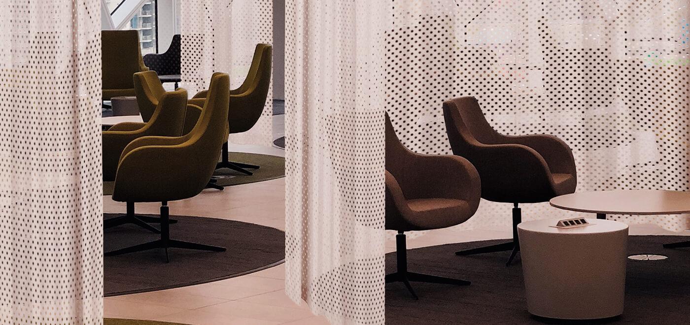 Asset Office Interiors-Κουρτίνες
