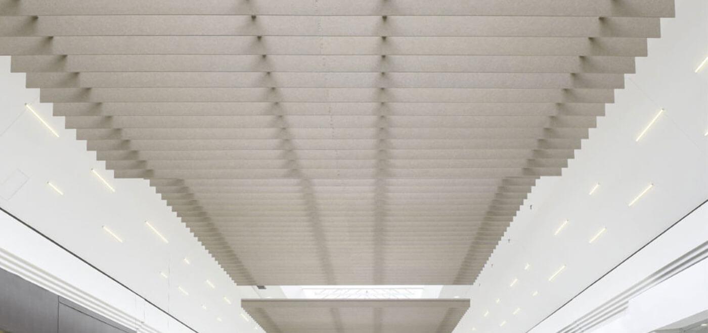 Asset Office Interiors-Curv Baffles