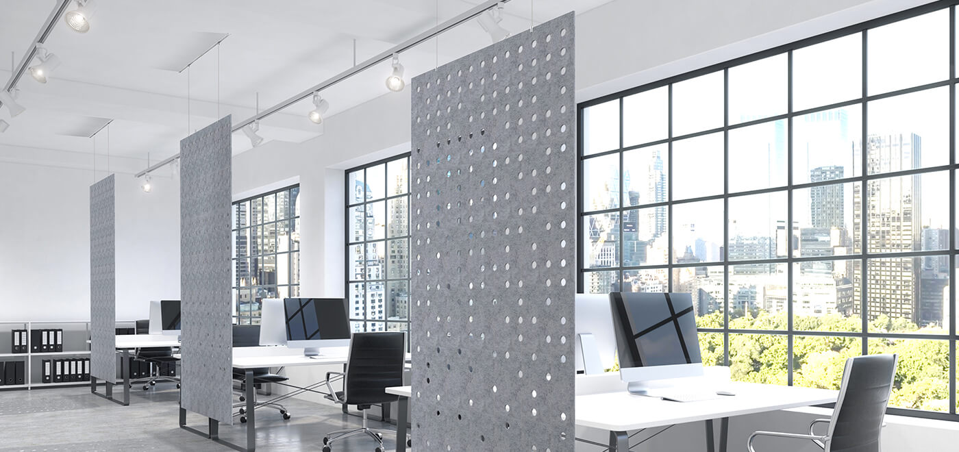 Asset Office Interiors-Work Zone Divider