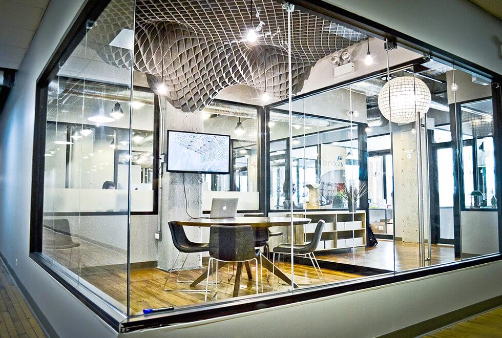 Asset Office Interiors-Acoustical Net