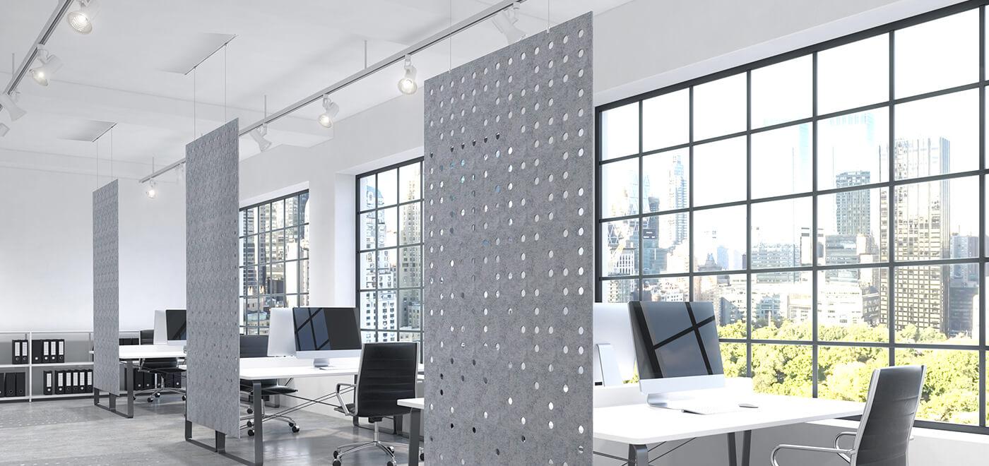 Asset Office Interiors-Work Zone Divider