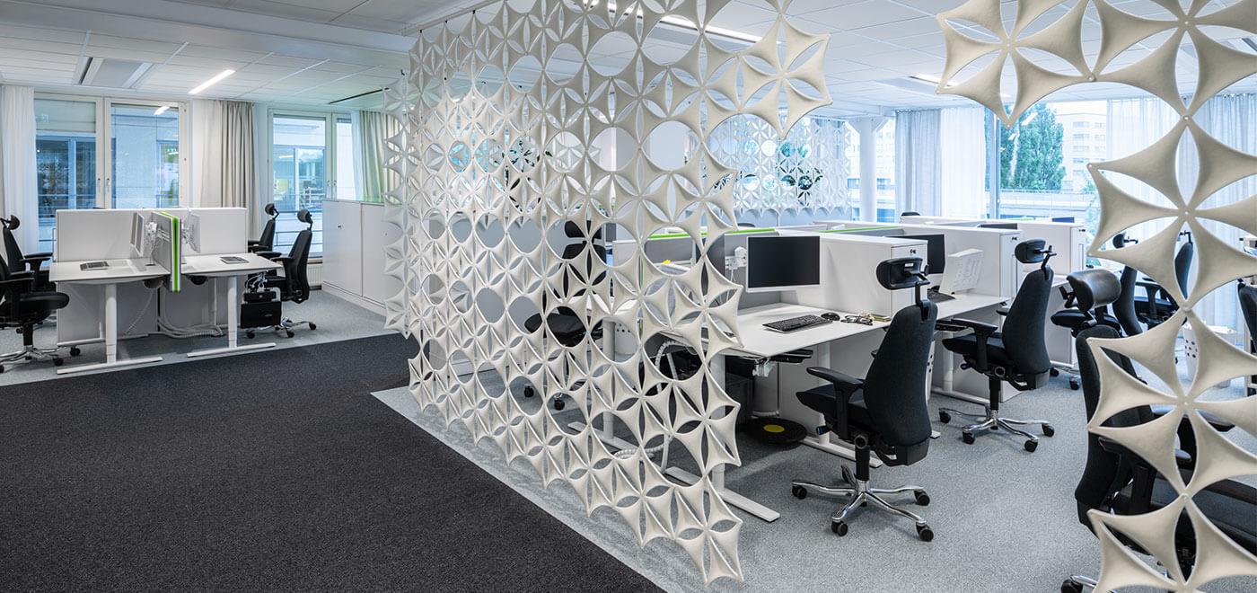 Asset Office Interiors-Αναρτώμενα Panels