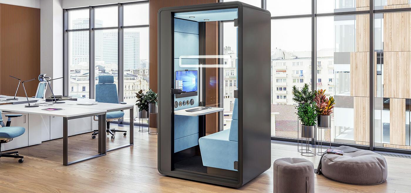 Asset Office Interiors-hushHybrid