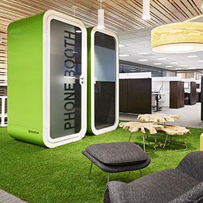 Asset Office Interiors-Phone & Meeting Booths