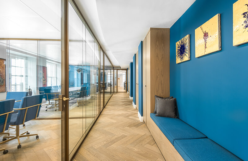 Asset Office Interiors-Eurobank Private Bank Luxemburg, London Offices